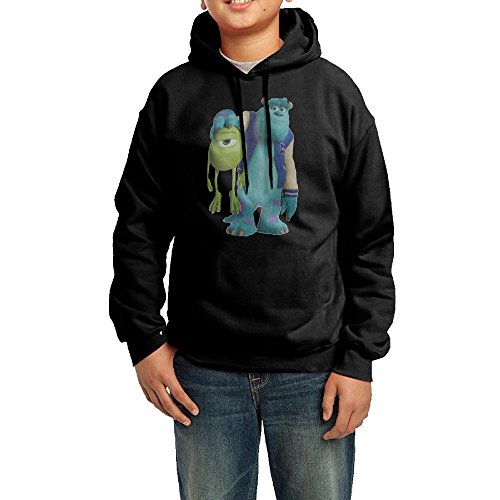 [Sulley Holding Mike Youth Classic Pullover Athletic Sweatshirt Hoodies] (Women's Sulley Hoodie)