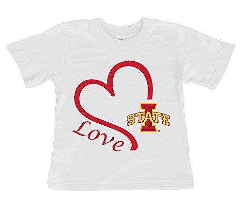 Future Tailgater Iowa State Cyclones Love Baby//Toddler T-Shirt