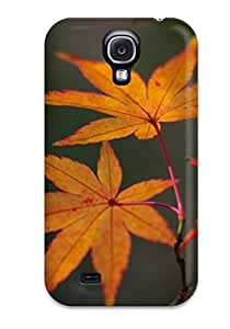 Fashionable Style Case Cover Skin For Galaxy S4- Dry Leaves On The Branch