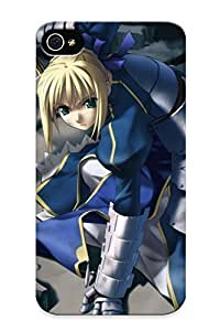 Perfect Fit 98535e5117 Fatestay Night Saber Fate Series Case For Iphone 4/4s With Appearance