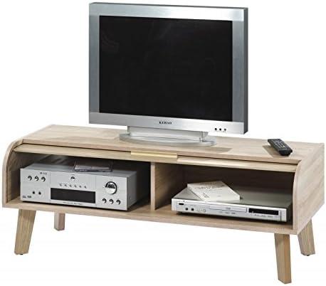 Simmob HAPPY220CCC - Mueble para televisor Vintage con Cortina ...