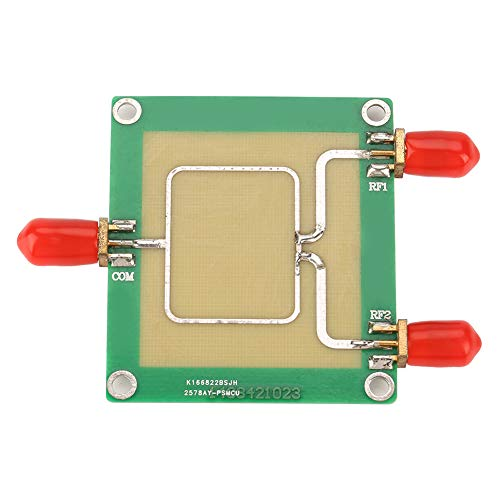 RF Power Splitter, 2-Way Signal Power Splitter,30-1000mhz Frequency,Stable Performance,Split One Channel Input Signal Into Two,or Use as a Combiner