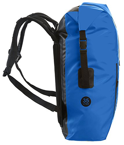 c43781eaa2d7 Earth Pak Waterproof Backpack  35L   55L Heavy Duty Roll-Top Closure with  Easy