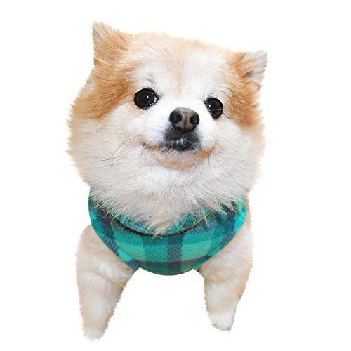 (Ymibull Pet Warm Vest, Dog Cat Villus Costume Puppy Doggy Apparel Clothing (M,)