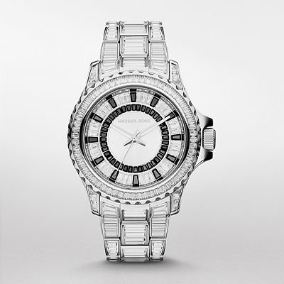 Michael Kors Everest Crystal-set Dial Crystal Pave Ladies Watch MK5877