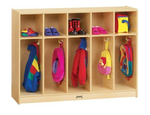 Jonti-Craft 2684TK Toddler 5 Section Coat Locker by Jonti-Craft