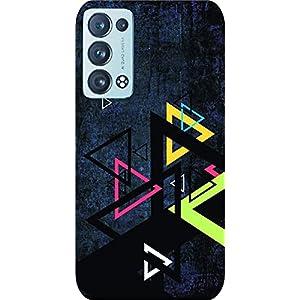 Joe Designer Printed Back Case Cover for Oppo Reno 6 Mobile (Multicolor) art105