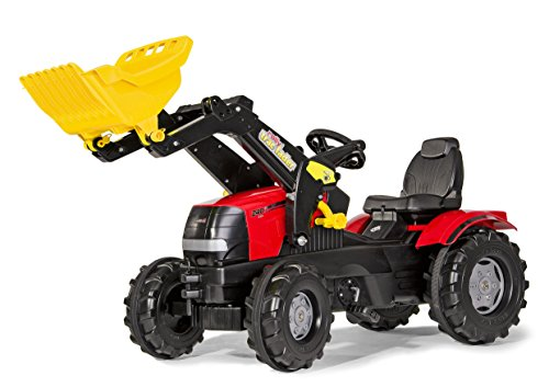 Rolly Toys CASE FarmTrac Puma with Front Loader Ride-On by Rolly