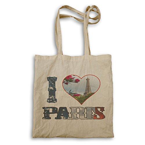 Ich Liebe Paris Frankreich Kunst Tragetasche r910r
