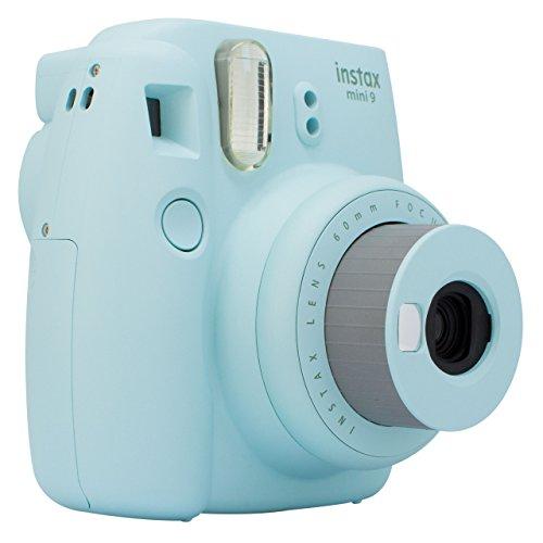Câmera Instantânea Instax Mini 9, Fujifilm, Azul Acqua