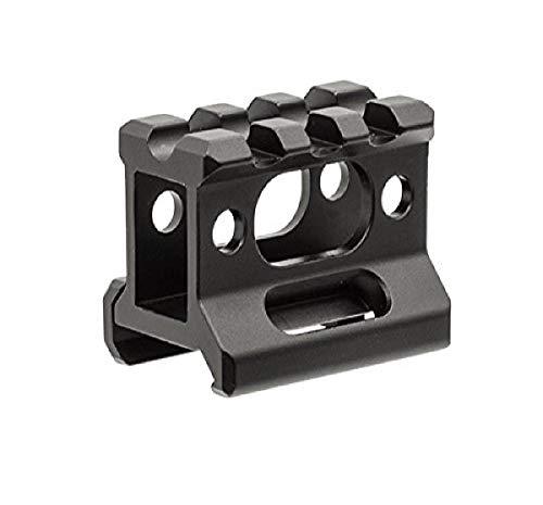 UTG Volwassenen Super Slim Picatinny Riser Mount 1″ High, 3 slots MT-RSX1S montageverhoging, zwart, één maat