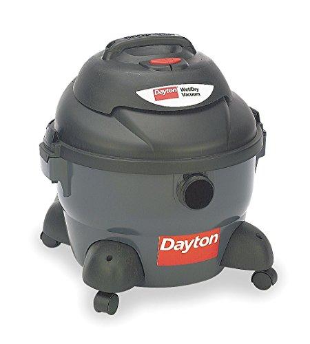 Dayton Wet/Dry Vacuum, 4.5 HP, 8 gal, 120V