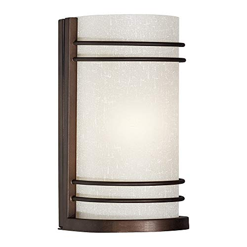 Indoor Wall Sconce Forte Lighting - Forte Lighting 5693-01-32 Signature 1 Light 5 inch Antique Bronze Wall Sconce Wall Light