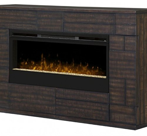 Cheap DIMPLEX Markus Glass Ember Bed Electric Fireplace Mantel in Boston Black Friday & Cyber Monday 2019