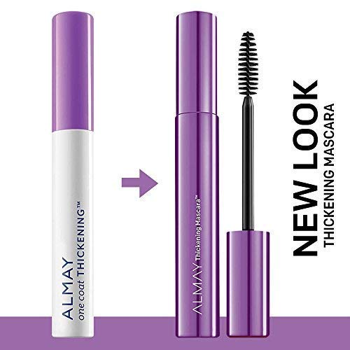 4f57db93f46 Amazon.com : Almay One Coat Thickening Mascara, Black Brown [403], 0.26 FL  oz (Pack of 2) : Beauty