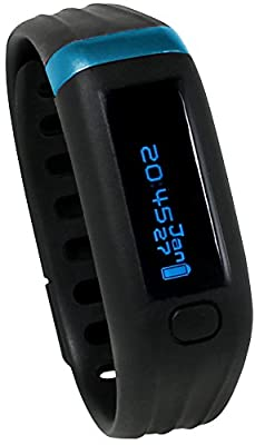 Bally Total Fitness Wireless Activity Tracker with OLED Screen, Water Resistant