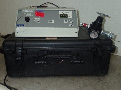 Used Mocon 450  Mocon Pac Check 450  Head Space Analyzer 001 198 No Cord Boxyb