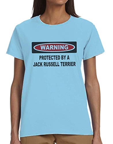 (Protected by A Jack Russell Terrier Ladies T-Shirt)