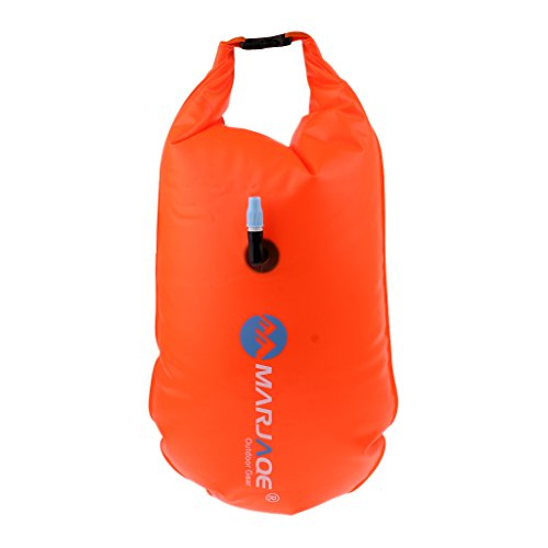 Baosity Inflatable Swim Safety Tow Float Dry Bag Sack Orange + Anti-water Phone Case Cover for Water Sports by Baosity (Image #8)