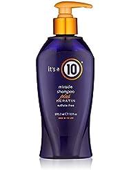 it's a 10 Miracle Shampoo plus Keratin 10 oz