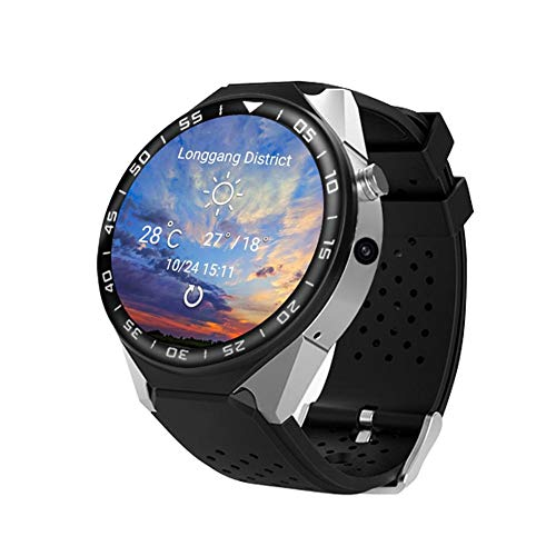Price comparison product image UEB S99C Bluetooth Smart Watch Camera 2GB RAM 16GB ROM Support SIM Card 3G WiFi GPS Smartwatch Phone Android iOS