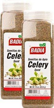 Badia Celery Seed Whole 16 oz Pack of 2