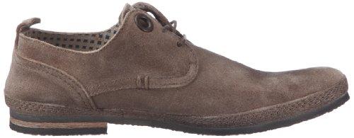 Kickers Duo - Zapatos de cuero hombre gris - Grau (gris clair)