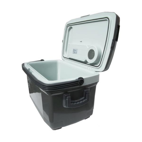 KD & JAY 45L Huge Cool box Drinks Cooler Food Warmer Heater Box with Wheels 12V DC & 240V