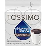 Tassimo Maxwell House Dark Roast Coffee Single Serve T-Discs,  14 T-Discs
