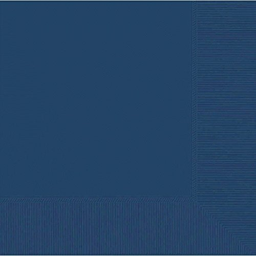 Navy Blue 2-Ply Luncheon Napkins | Party Supply | 600 ct.