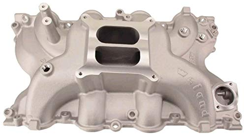 Big Block Ford Heads - NEW WEIAND STEALTH INTAKE MANIFOLD, FITS FORD BIG BLOCK V8, 429, 460, (STANDARD HEADS)