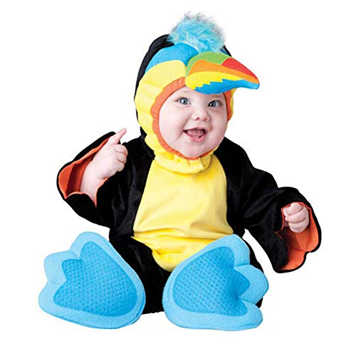 RENGANG Animal Costumes for Infant Toddlers Baby Boys Girls Kids Cosplay Parrot