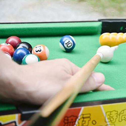 Mini Mesa de Billar billares de Madera portátiles Juguetes interactivos para el día del niño Juegos de Escritorio Juguetes interactivos para Padres e Hijos (Color : Green, Size : 52 * 11 * 31.5cm): Amazon.es: Hogar
