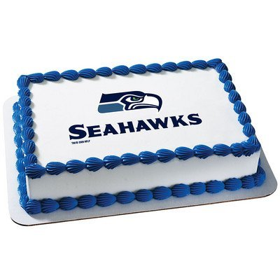 Amazon Seattle Seahawks Licensed Edible Cake Topper 4635 Toys