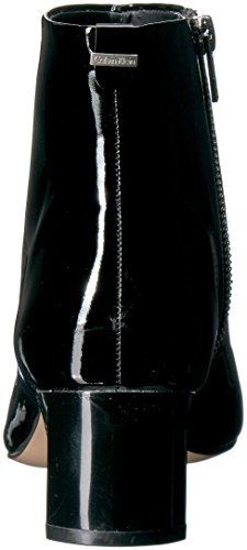 Calvin Klein Womens Mimette Leather Ankle Boot Black Patent hec725IDL