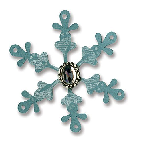 Sizzix 657228 Sizzlits Die, Snowflake No.23 by Basic Grey