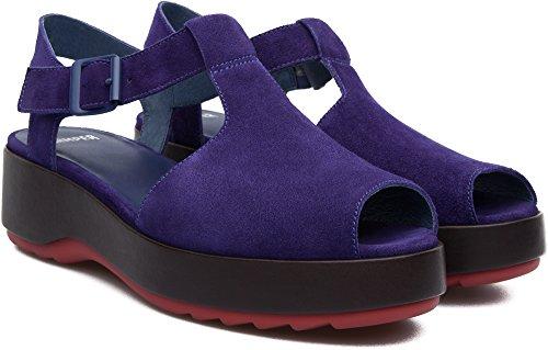 Camper Dessa K200083-004 Plataformas Mujer Violeta