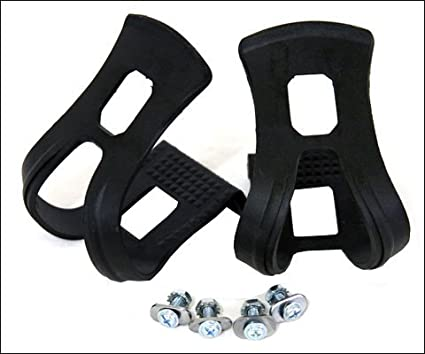 ULTRACYCLE Mtb Toe Clips Black Large Pair Bike