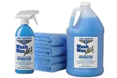PLEASE NOTE: Wash Wax ALL is a cleaner protector. It IS formulated to clean and protect the finish. Wax is not for restoring shine to a dull finish. Wax is to protect and enhance the shine that you have. To restore shine you need to use a pol...