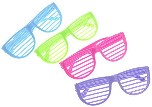 PowerTRC 24 Pairs of 80's Sunglasses Party - Glasses Favor