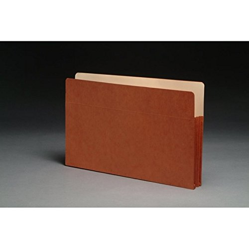 Economy TOP TAB Expansion Pockets, Paper Gussets, Legal Size, 1-3/4'' Expansion (Carton of 50)