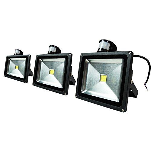 eTopLighting BLEFPIR30 3P Outdoor Security Lighting product image