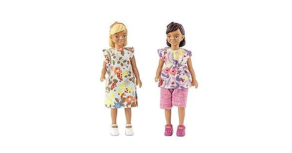 Amazon.com: Melody Jane casa de muñecas Lundby dos moderno ...