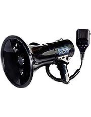 CCHM Megáfono Altavoz del megáfono del megáfono Potencia de Voz y la Sirena/Modos de Alarma con Control de Volumen