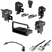Car Stereo Dash Kit, Wire Harness, and Antenna Adapter for installing a new Single Din Radio for some Nissan 200sx, Altima, Frontier, Maxima, Pathfinder, Sentra, Xterra