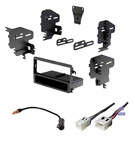 Nissan Maxima Car Stereo - Car Stereo Dash Kit, Wire Harness, and Antenna Adapter for installing a new Single Din Radio for some Nissan 200sx, Altima, Frontier, Maxima, Pathfinder, Sentra, Xterra