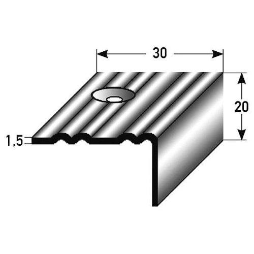 50 metros (50 x 1 m) - Perfil de escalera (42 mm x 50 mm) de ...