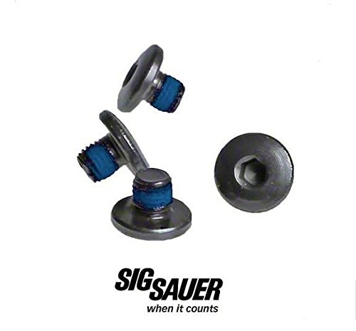 Sig Sauer P238 P938 Factory Replacement Hex Grip Screws Blk