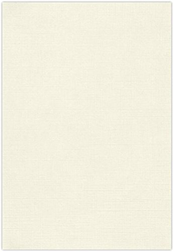 13 x 19 Paper - Natural Linen (50 Qty.)   Perfect for Crafting, Invitations, Scrapbooking, 13x19 Photos, Presentations   Printable   80lb. Text Weight   1319-P-NLI-50