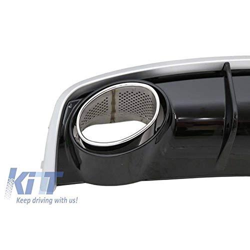 Kitt rdaurs4/F parachoques trasero difusor de cama y puntas de escape dise/ño 2007/ /2012